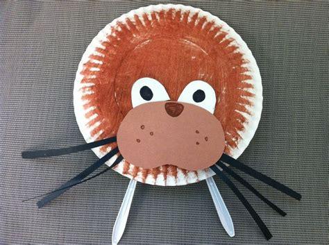 Walrus Paper Plate Craft - walrus paper plate project winter paper