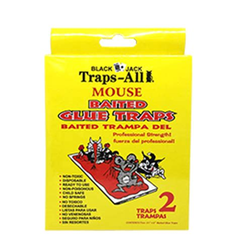 safeguard products ratoncides & glue traps