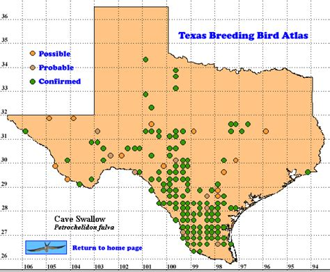 texas caves map cave the texas bird atlas