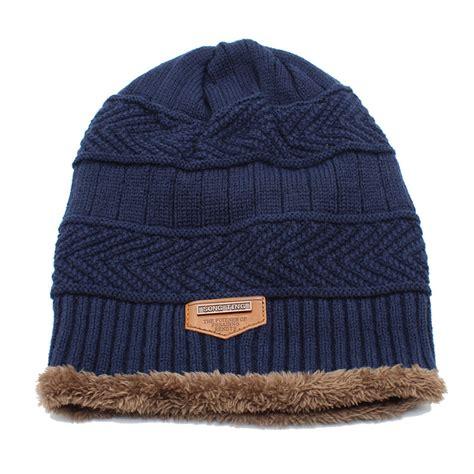 Kupluk Wool Winter Hat Beanie Biru kupluk wool winter hat beanie blue jakartanotebook
