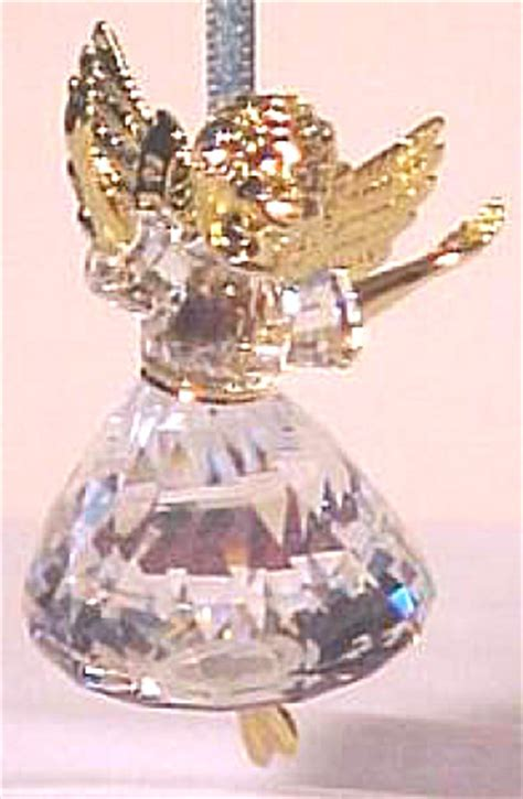 swarovski 1996 1 christmas memories angel ornie 9443nr