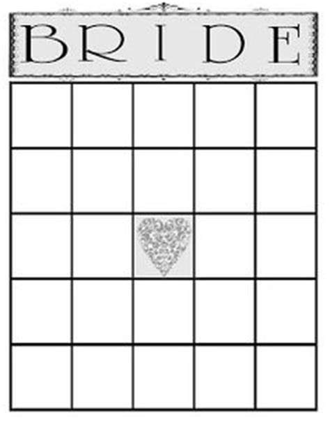 bingo card template 5x5 1000 images about bridal bingo on bridal