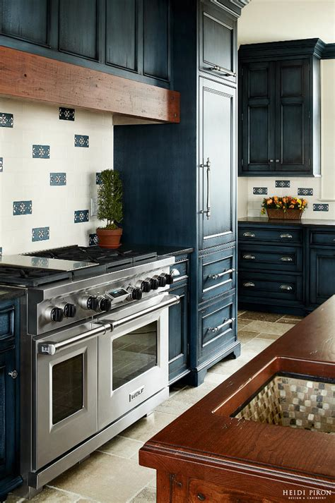 navy kitchen cabinets navy kitchen cabinet paint color home bunch interior design ideas