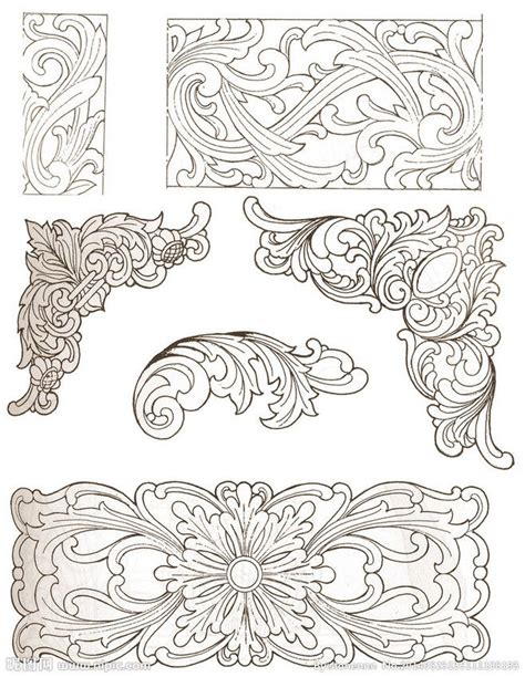 pattern wood design chinese traditional wood carving patterns design