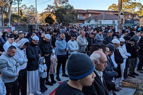 umat islam australia berdoa minta hujan  salat idul