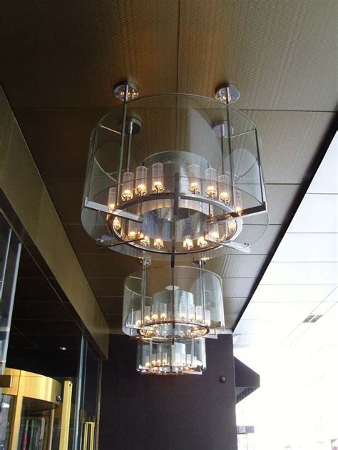 Hotel Light Fixtures Hotel Lighting Create Depth In A Light Fixture With Clear Layers Made In La