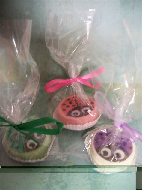 Birthday Giveaways For Boys - party favor lady bug chocolate oreo cookies birthday favors boys birthday girls