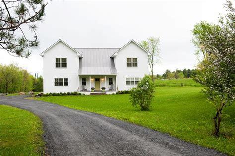 modular farmhouse farmhouse exterior by mary prince exterior home
