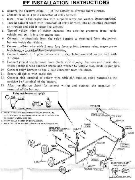 ipf spotlight wiring diagram 3 fog light wiring 5 pin