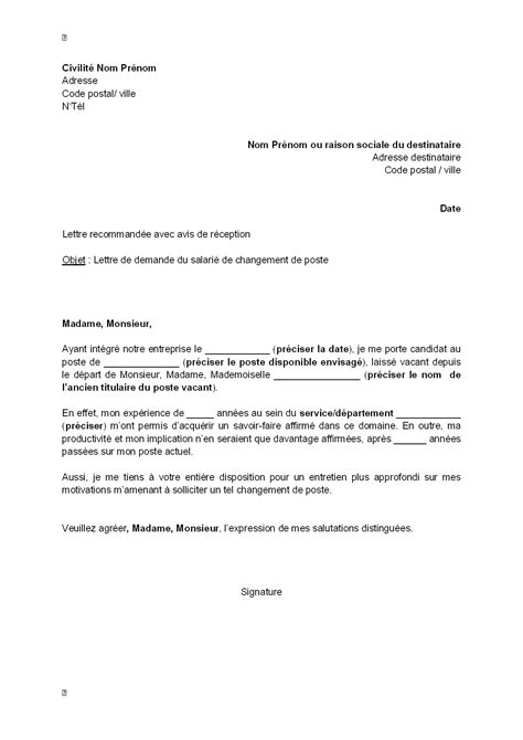 Lettre de motivation changement université - laboite-cv.fr