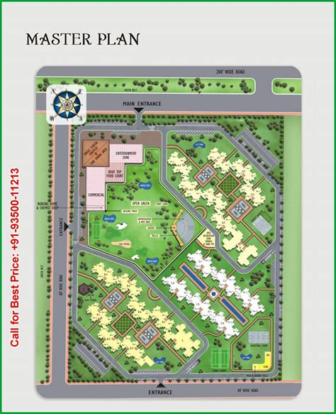 master plan housing master plan earth towne housing apartment in greater noida