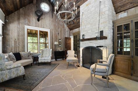 hill country rustic elegance rustic living room by southern landscape