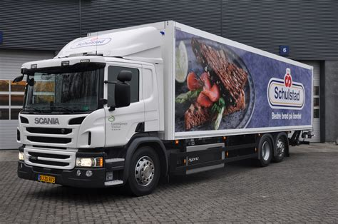 hybrid truck scania s hybrid trucks enable early morning deliveries in
