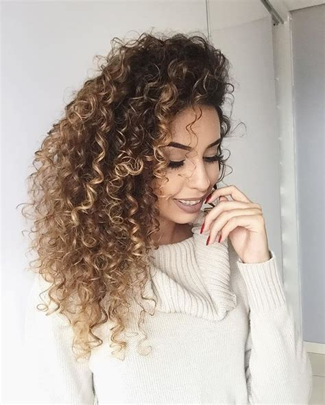best highlights for curly hair 15 black and blonde hairstyles popular haircuts of hair