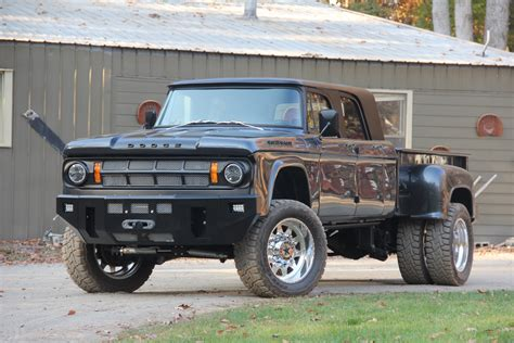 dodge power wagon cummins conversion this 1969 dodge d200 power wagon mega cab is one of a