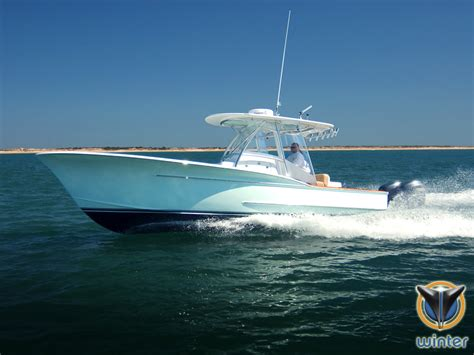 center console boats over 40 ft larger custom carolina style center consoles anyone know