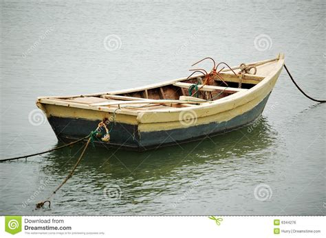dream of empty boat boat royalty free stock image image 6344276