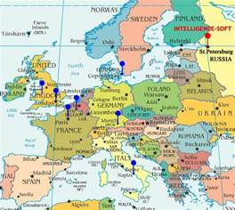 Map Of West Europe by Western Europe Countries Images