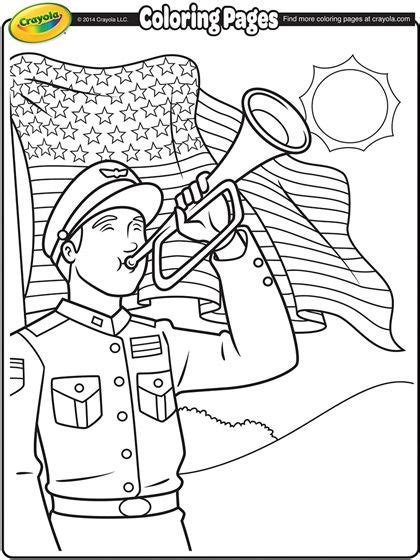 memorial day coloring page busy printables