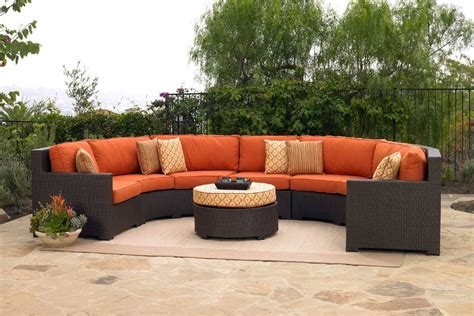 Outdoor Patio Furniture Sectionals Measure Outdoor Sectional Furniture All Home Decorations