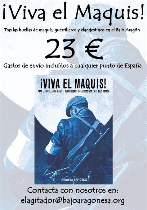 libro viva el latn compra el libro 161 viva el maquis el agitadorel agitador