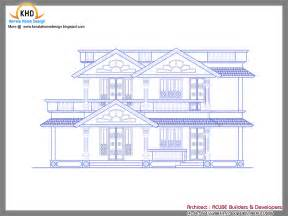 Home Exterior Design Consultant Kerala Traditional Houses A Sample Design Entry A