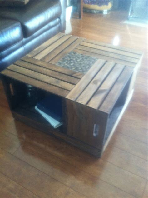 Apple Crate Coffee Table by Diy Apple Crate Coffee Table Furniture