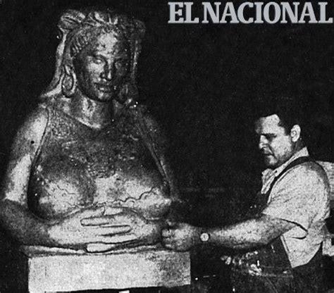 la negra matea escultura de la negra matea realizado por alejandro colina