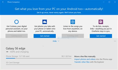 The Windows 10 Phone Companion and Android: Do you need it?   Android Central