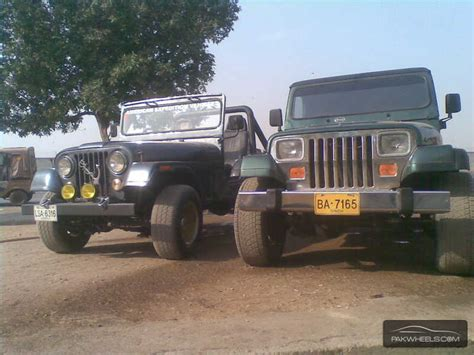 Jeep Wrangler 1980 Jeep Wrangler 1980 For Sale In Karachi Pakwheels