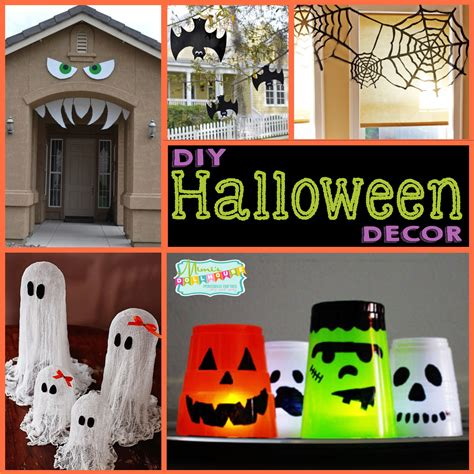 diy halloween home decor halloween party decoration ideas diy
