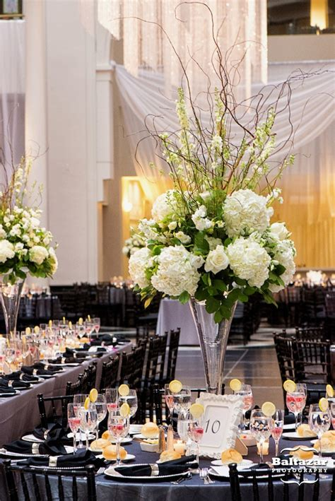 How To Do Draping Friday Feature Tall White And Ivory Floral Centerpieces