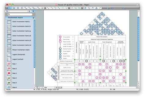 How To Make A Floor Plan Online by House Of Quality Matrix Software