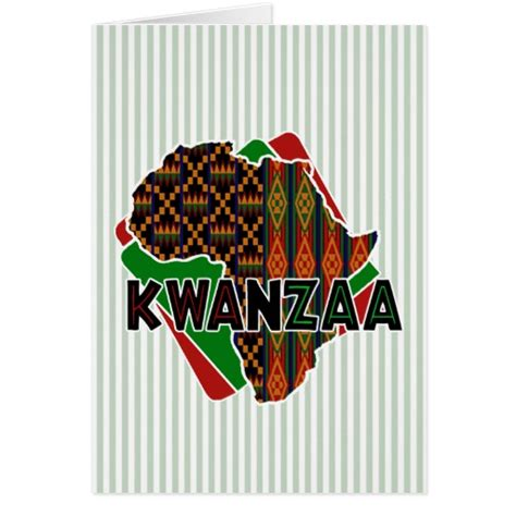 origin kwanzaa holiday greeting cards zazzle