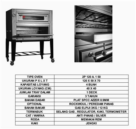 Oven Kue Gas Golden harga oven gas jual oven gas pabrik oven gas oven gas