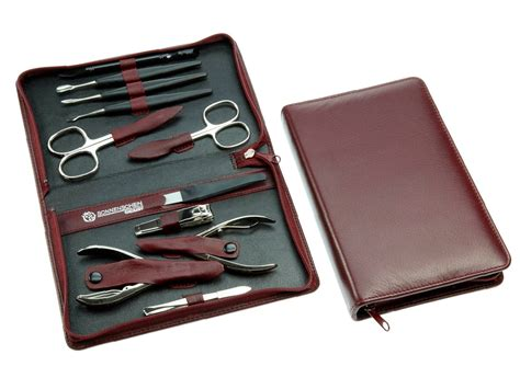 Manicure Kit sonnenschein leather manicure pedicure set maxi