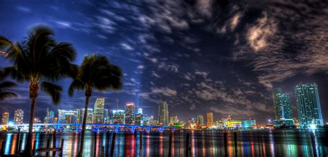 miami city skyline at night miami skyline this image can be purchased from my
