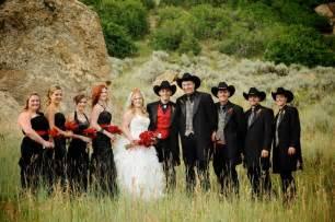 western wedding western wedding black photography