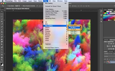 how to blur a background in photoshop how to blur the background for a focal point in adobe