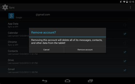 remove account android play store quot no connection retry quot fix android