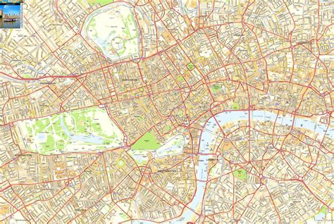 printable map central london image gallery london street map print