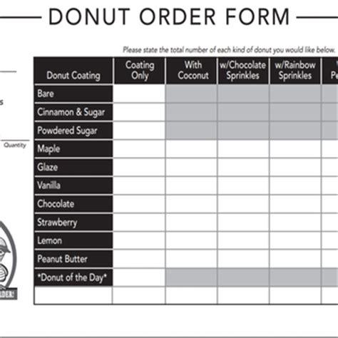 printable krispy kreme order forms duck donuts 223 photos donuts virginia beach va