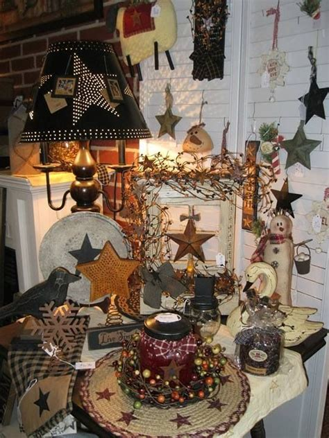 primitive christmas for the home pinterest