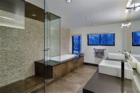 Modern Master Bathrooms Modern Master Bathroom With Shower By Tom Lester Zillow Digs