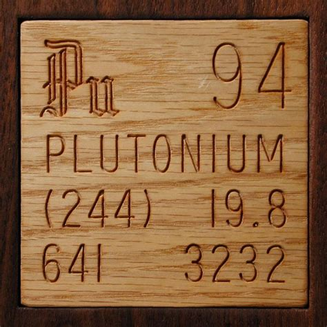 Pu Periodic Table by Facts Pictures Stories About The Element Plutonium In