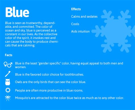 color psychology blue psychology of color daily dose