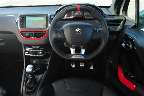 peugeot 208 gti inside theshiftr a car blog with more gears