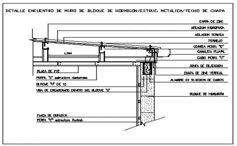 Sketches A Corrugated Bulkhead by Concrete Wall Block Joint With Corrugated Steel Roof