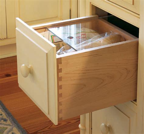 Idea Kitchen Bread Drawer Accessories Plain Amp Fancy Cabinetry