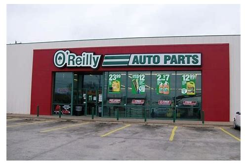 o'reilly auto parts coupons in store